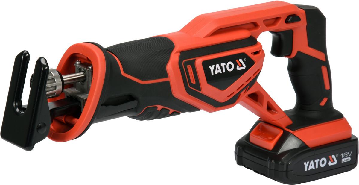 Пила сабельная аккумуляторная YATO YT-82814
