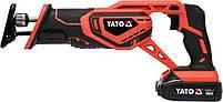 Пила сабельная аккумуляторная YATO YT-82814, фото 2
