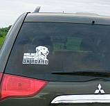 Наклейка на авто / машину Американская акита на борту (American Akita on board), фото 5