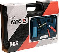 Ручной вакуумный насос с принадлежностями YATO YT-0673, фото 3