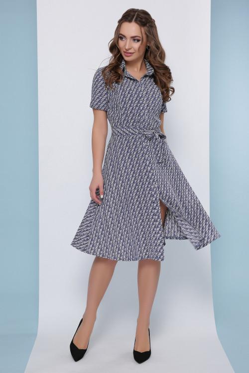 Платье 1822 синий