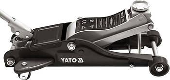 Домкрат подкатной низкопрофильный 2 тонны YATO YT-1720