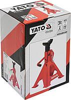 Подставки под автомобиль 3 тонны YATO YT-17311, фото 2