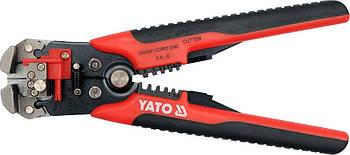 Клещи для обжима и зачистки проводов YATO YT-2278