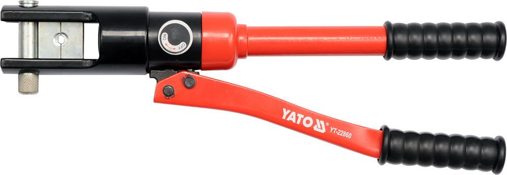 Клещи ручные гидравлические для обжима проводов YATO YT-22860