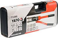Клещи ручные гидравлические для обжима проводов YATO YT-22860, фото 2