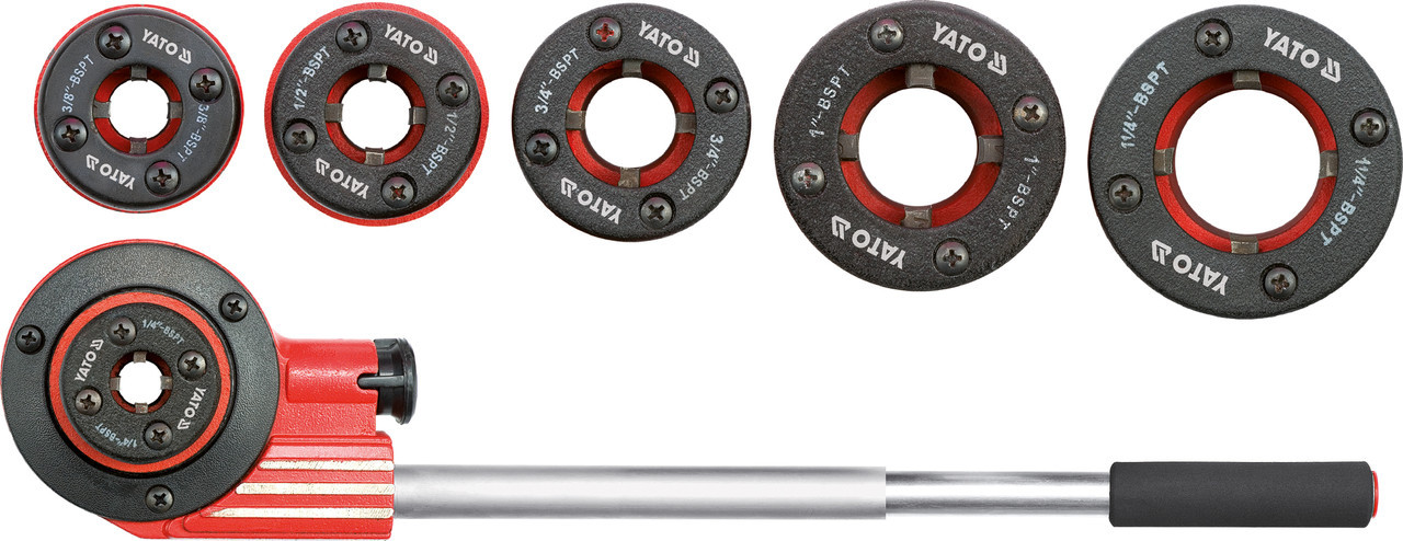 Клуппы для нарезания трубной резьбы YATO YT-2900