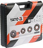 Набор плашек трубных клуппов для нарезки резьбы YATO YT-29001, фото 4