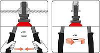 Ручной заклепочник для резьбовых заклепок M5-M12 YATO YT-36119, фото 4