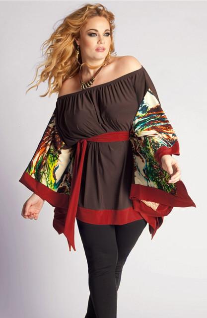 Роскошные платья больших размеров для пышных леди!