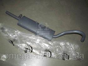 Глушитель ВАЗ 2101-2107 закатной (Tempest) 2101-1201005-01