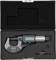 Микрометр электронный 0-25 мм YATO YT-72305, фото 2