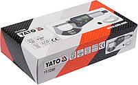 Микрометр электронный 0-25 мм YATO YT-72305, фото 4