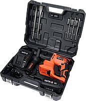 Перфоратор аккумуляторный SDS+ YATO YT-82770, фото 2