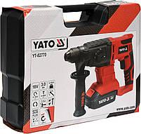 Перфоратор аккумуляторный SDS+ YATO YT-82770, фото 4