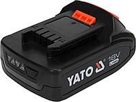 Аккумулятор LI-ION 18V 2Ah YATO YT-82842, фото 2