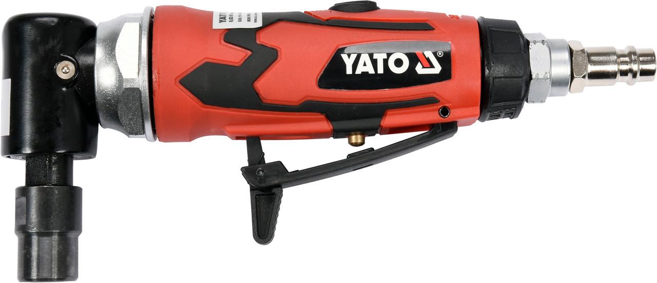 Шлифмашина угловая пневматическая YATO YT-09676