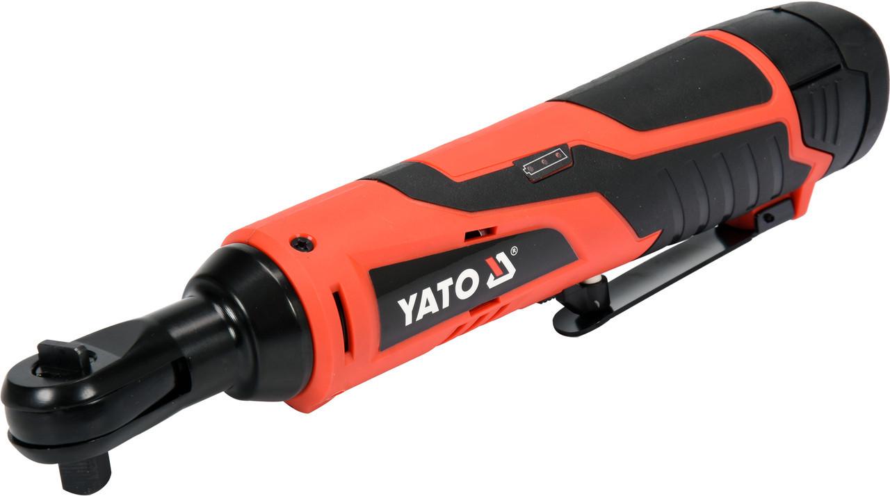 Трещотка ударная аккумуляторная YATO YT-82902