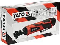 Трещотка ударная аккумуляторная YATO YT-82902, фото 4