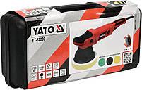 Полировальная эксцентриковая машина YATO YT-82200, фото 5