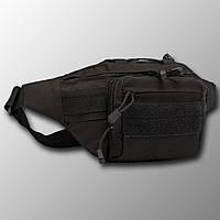 """Поясная сумка """"Y109"""" (черный) бананка, поясная сумка, тактическая сумка"""