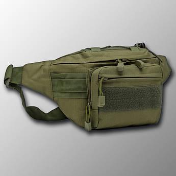 "🔥 Поясная сумка ""Esdy - Y109"" (олива) бананка, поясная сумка, тактическая сумка"