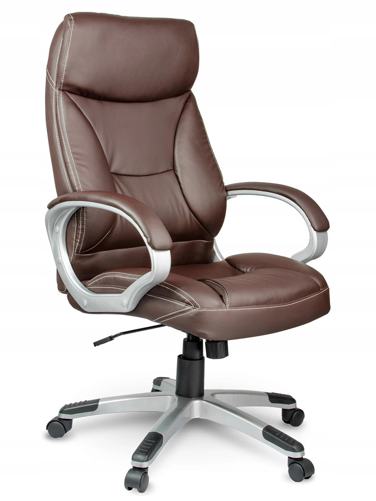 Кожаное офисное кресло Sofotel EG-223 коричневое