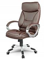 Кожаное офисное кресло Sofotel EG-223 коричневое, фото 2