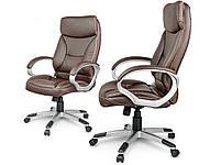 Кожаное офисное кресло Sofotel EG-223 коричневое, фото 3