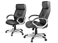 Кожаное офисное кресло Sofotel EG-223 черное, фото 2