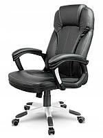 Кожаное офисное кресло Sofotel EG-222 черное, фото 2