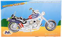 """Деревянная сборная 3d модель мотоцикл """"Харлей Девидсон"""" (4 пластины)"""