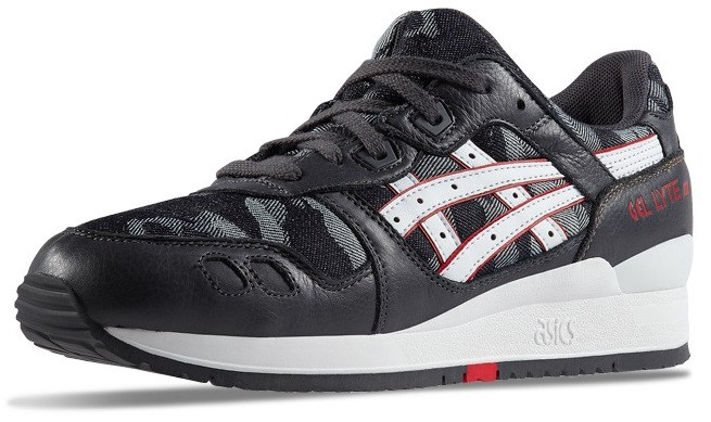 Кроссовки Asics Gel Lyte III All Black в черном цвете - Интернет магазин  обуви «im 30626354af22a