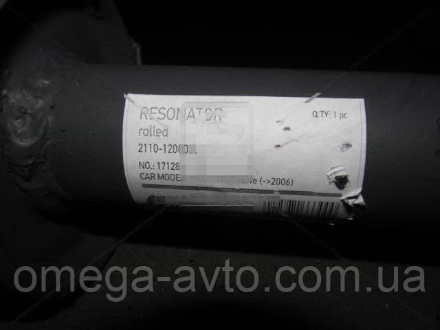 Резонатор ВАЗ 2110, 2111, 2112 - 8 кл. до 2006 г.в. закатной (Tempest) 2110-1200020