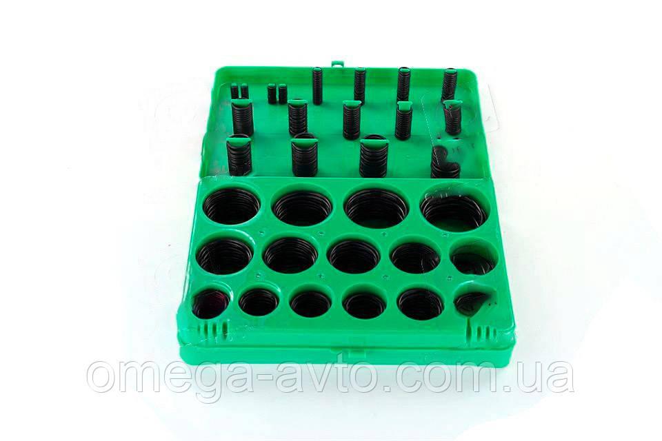 Набір ущільнювальних кілець зелені 270 шт. (діам. 5, 29-17, 04 мм) (RIDER) RD11270ZK