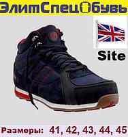 Ботинки защитные рабочие с металлическим подноском Site Strata Boots. Размеры 44,45