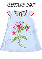 Платье детское ДПМР 07 под вышивку бисером