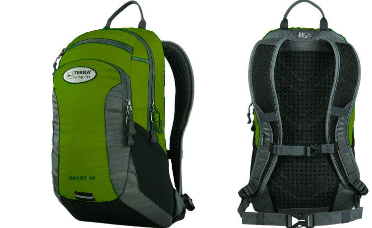 Рюкзак Terra Incognita Smart 20 Green-Grey (TI-03705)