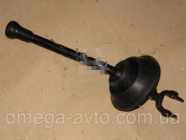 Рычаг переключения передач с шайбой и рукояткой в сборе (Беларусь) 5551-1703410-01