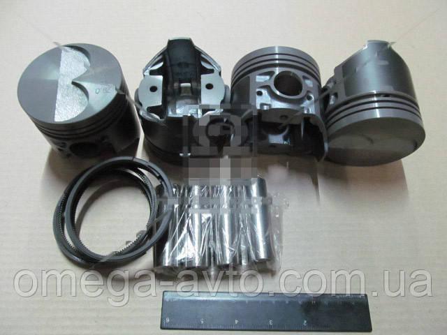 Поршень ВАЗ 2101-2107 2105 d=79,0 гр.D М/К (Black Edition+п.п+п.кольца) (МД Кострома) 2105-1004018