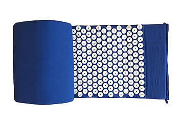 Масажний килимок Rao аплікатор Кузнєцова 150х40 см Синій (28692)