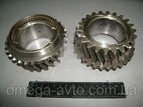 Шестерня 4-передачи вала вторичного с кольцом синхронизатора (ГАЗ) 3309-1701154