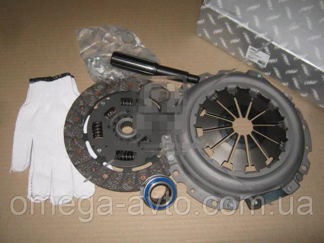 Комплект сцепления ВАЗ 2190 (диск нажим.+вед.+подш.) (RIDER) 21703-1601000-10