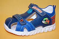 Детские босоножки Том.М Китай 5621 для мальчиков синий размеры 22_27, фото 1