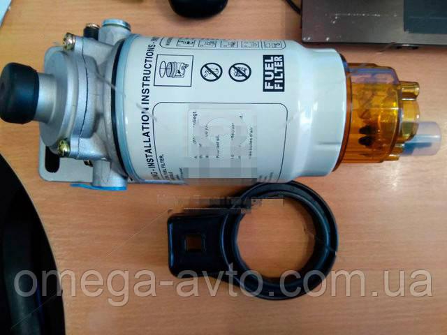 Фільтр паливний з осн. (сепаратор) PreLine 270 КАМАЗ ЄВРО-2 (б/обогр.) (RIDER) RD270P