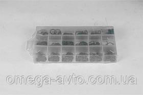 Набор уплотнительных колец зеленые (маслостойкие) 270 шт. (диам. 5, 29-17, 04 мм) (Rider) RD11270ZK