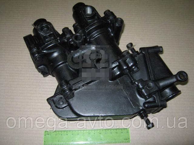Кран тормозной 2-секц ЗИЛ 130, Т-150 (с выключ. тормож. лягушкой) 151.64.027
