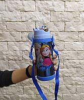 Детский термос с трубочкой 350 мл Ельза