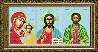 """Схема для вышивки бисером """"Триптих-Молитва о торговле"""""""