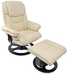 Кресло педикюрное с массажем Bonro 5099 ваниль